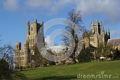 Cathedral in Ely Cambridgeshire