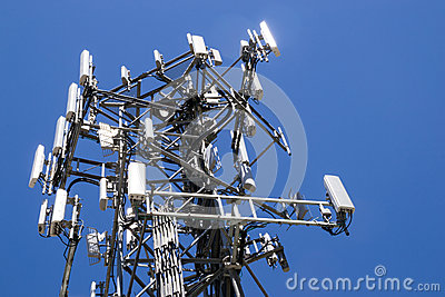 The cell tower.