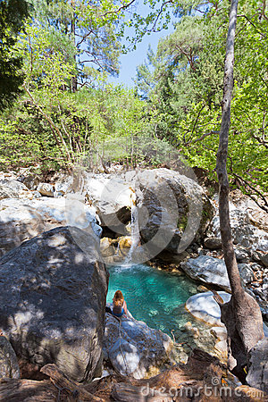 Idyll of the Samaria Gorge