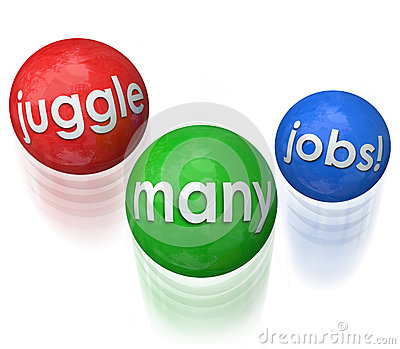 Juggle Many Jobs