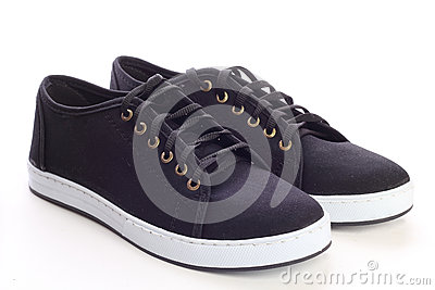 stock image of sport shoes