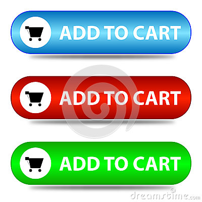 Three ' add to cart ' banners