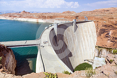 Glen Canyon Dam, near Page