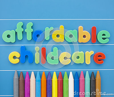 Affordable Childcare.