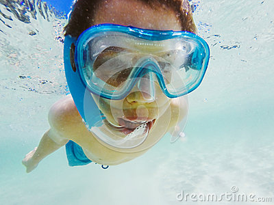 Snorkelling in Aegean sea