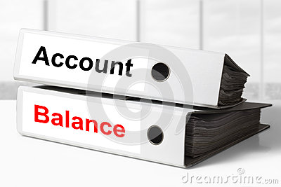 Office binders account balance