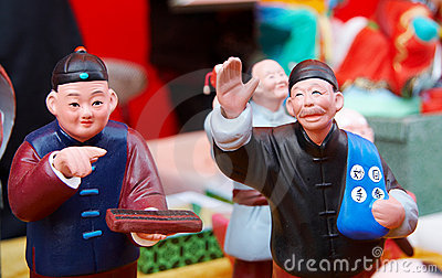 clay figurine in beijing