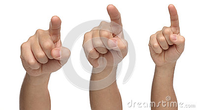 three hands pointing or touching something three hands pointing or touching something