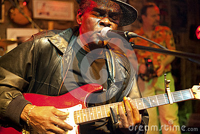 A blues musician, Mississippi