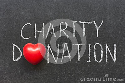 Charity donation