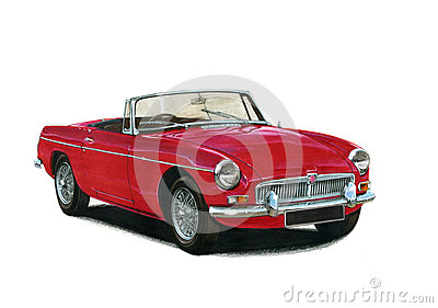MGB Roadster 1960s 1970s