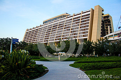 Disney's Contemporary Resort, Orlando, Florida.
