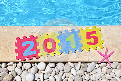 2015 by poolside