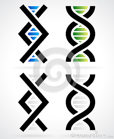DNA strand, helix