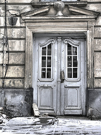 Architecture of old Lvov