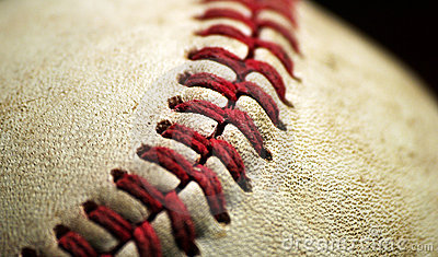 Baseball Macro Closeup