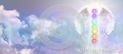 Angel Reiki Wings and Seven Chakra Vortexes