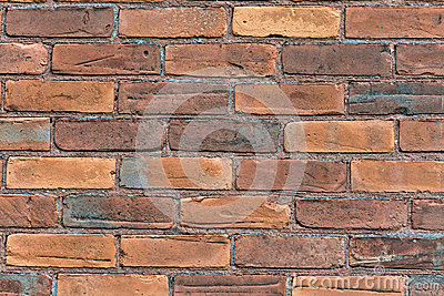 Close up of an Old Brick Wall