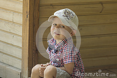 Boy in a cap