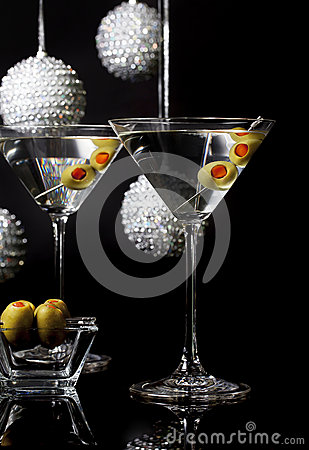 Martini Cocktails for Holiday Party