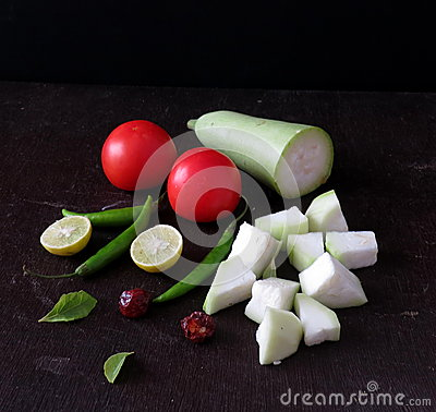 Indian summer vegetables