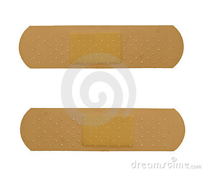 Two bandaid