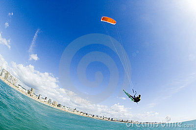 Kiteboard Big Air