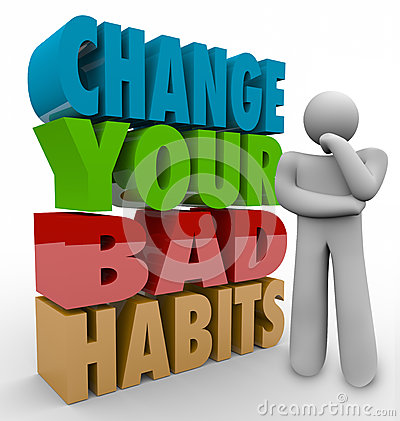 Change Your Bad Habits Thinker Adapting Good Qualities Success
