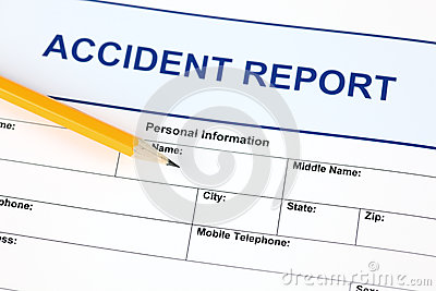 Accident report application form