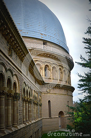 Yerkes Observatory Leading Into Larger Dome