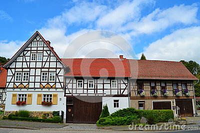 Gorgeous Half-Timbered Houses in Germany
