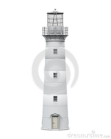 Lighthouse Isolated