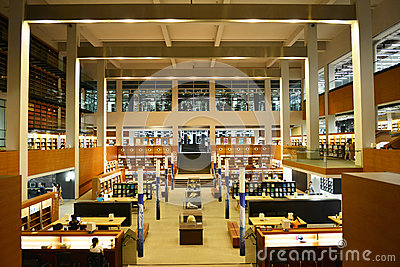 China Library Shantou University library,canton,China,the most beautiful university libraries in Asia