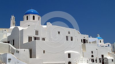 Greek Orthodox Churches, Oia, Santorini