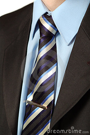 Business tie shirt and suit