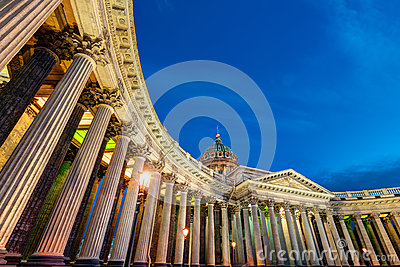 Kazan Cathedral in Saint Petersburg, Russia