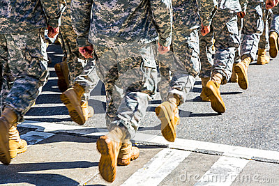 Marching Troops