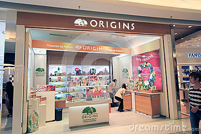 Origins shop in hong kong