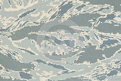 US air force digital tigerstripe abu camouflage fabric