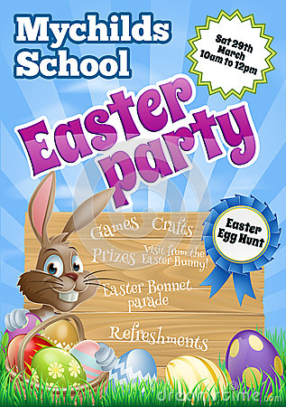 Easter Party Flier