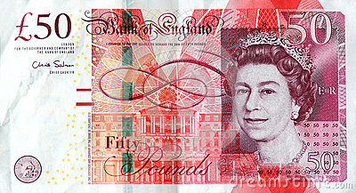 The £50 note