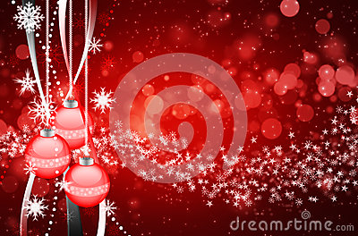 Beautiful colorful xmas background