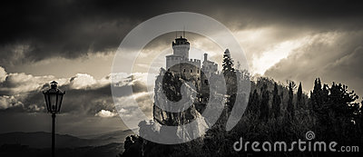 Haunted castle in the sky