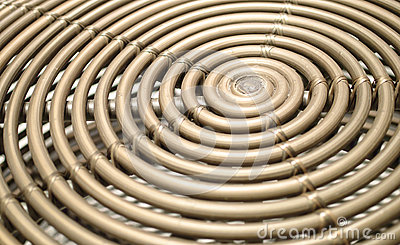 Bamboo spiral abstract and background