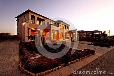 Upmarket South African home