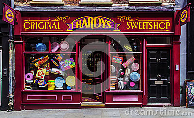 Architecture London Candy Store Hardys Sweetshop