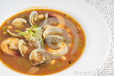 Spicy Seafood Soup #1