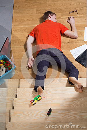 Accident at home