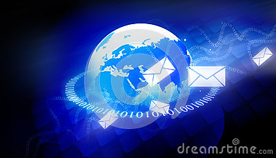 Binary world with email messages