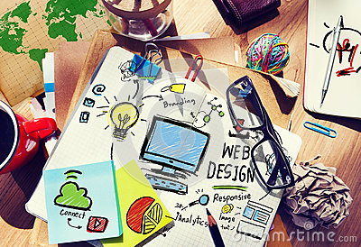 Content Creativity Digital Graphic Webdesign Webpage Concept